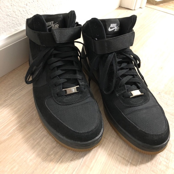217cda7bf55c Nike Air Force One high tops women's size 9.5. Nike.  M_5a908ffc36b9de7f4b55b929. M_5a908ffc36b9de7f4b55b929
